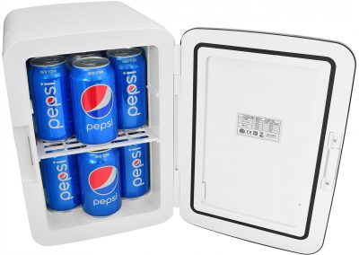 Cooluli Electric Cooler and Warmer -10 Liter - 12 Can-AC-DC Portable Thermoelectric System White_2