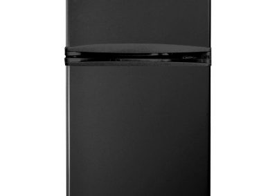 Magic Chef HMDR310BE 3.1 cu. ft. Mini Refrigerator in Black With Can Dispenser and Removable Shelves