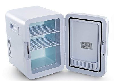 Mini Fridge Electric Cooler and Warmer - AC- DC Portable Thermoelectric System (10L)_2
