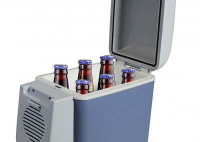 VViViD 7.5L Capacity Compact Thermoelectric Cooler-Warmer