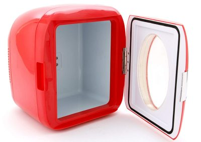 Vivitar 82123-RED-AMX 12 Can Mini Hot & Cold Refrigerator - Color May Vary