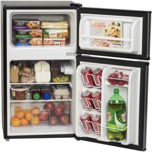 arctic king 3.2 cubic feet mini fridge freezer