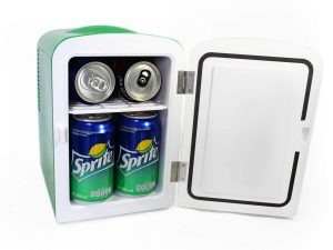 Sprite Mini Fridge Cooler