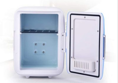 4L Car Refrigerator Hot and Cold Dual-Use Compact and Practical Mini-Fridge, DC12V, L9.05 W6.88 H9.44inchs_2
