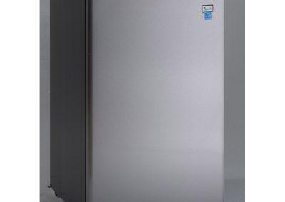 Avanti AR4456SS Counterhigh Refrigerator, 4.5 cu. ft, Black-Stainless Steel