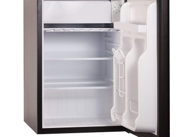 BLACK+DECKER BCRK25B Compact Refrigerator Energy Star Single Door Mini Fridge with Freezer, 2.5 Cubic Ft., Black_2