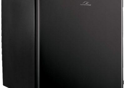 Commercial Cool CCR16B Compact Single Door Refrigerator and Freezer, 1.6 Cu. Ft. Mini Fridge, Black