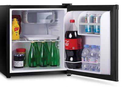 Commercial Cool CCR16B Compact Single Door Refrigerator and Freezer, 1.6 Cu. Ft. Mini Fridge, Black_2