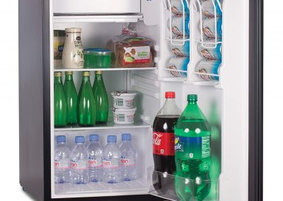 Commercial Cool CCR32B Compact Single Door Refrigerator and Freezer, 3.2 Cu. Ft. Mini Fridge, Black _2