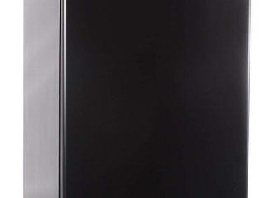 Commercial Cool CCR45B Compact Single Door Refrigerator and Freezer, 4.5 Cu. Ft. Mini Fridge, Black
