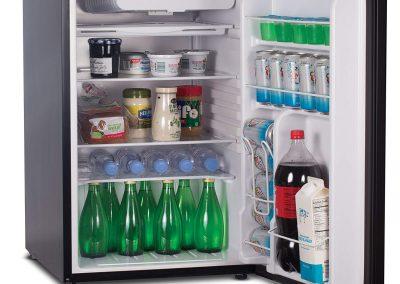 Commercial Cool CCR45B Compact Single Door Refrigerator and Freezer, 4.5 Cu. Ft. Mini Fridge, Black_2
