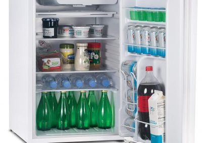 Commercial Cool CCR45W Compact Single Door Refrigerator and Freezer, 4.5 Cu. Ft. Mini Fridge, White_2
