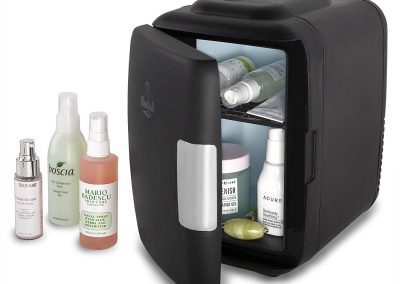Cooluli Classic 4-liter Compact Cooler-Warmer Mini Fridge for Cars, Road Trips, Homes, Offices and Dorms (Black)_2