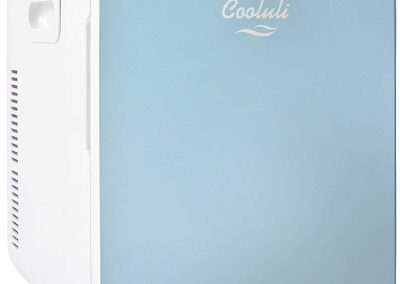 Cooluli Concord 20-liter Compact Cooler_Warmer Mini Fridge_Wine Cooler with Digital Thermostat + Dual-Core Cooling for Cars, Road Trips, Homes, Offices and Dorms