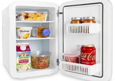Cooluli Vibe-15-liter Cooler-Warmer Mini Fridge with Dry-Erase Board for Dorms, Offices, Homes and Cars_2