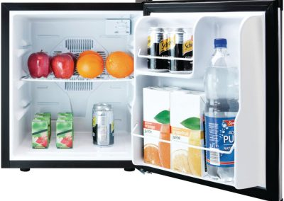 Culinair Af100s 1.7-Cubic Foot Compact Refrigerator, Silver and Black_2