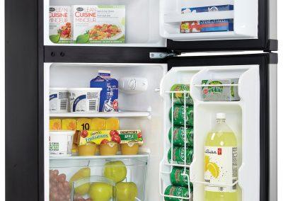 Danby DCR031B1BSLDD 3.1 cu. ft. 2 Door Compact Refrigerator, Steel_2