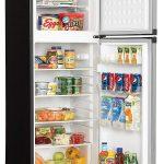 Danby DPF073C1BSLDD Designer Open Two Door Apartment Size Refrigerator Steel