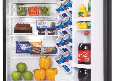 Danby Dar026A1bdd Designer Compact All Refrigerator, 2.6-Cubic Feet, Black_2