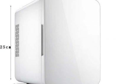 GJM Shop Car Refrigerator 4L Car 12V-Home 220V Dual-Purpose Portable Picnic Refrigerator Energy Saving Refrigeration-Heating Dormitory Refrigerator 241825cm -Blue-Pink-White-Sliver-Gray_2