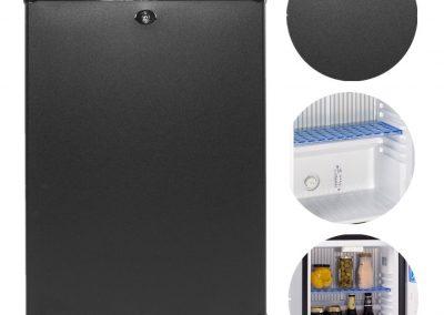 Generic Absorption Portable Refrigerator 110V 12V Hotel Mini Bar Low Noise Beverage beer Cooler Vehicle RV Boat Car_2