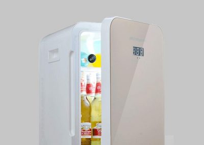 Jiongzhuo Car Refrigerator Car Dual-use Small Refrigerator Mini Small Household Student Dormitory Office Cold Storage Fresh and Cold 22 Liters_2