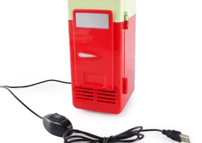 Lychee 5V USB Power Operated Portable Mini Fridge With Cooling and Heat Function,Cool Refrigerator For Office Desktop PC Car_2