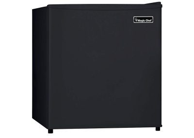 Magic Chef MCBR160B2 Refrigerator, 1.6 cu.ft, Black