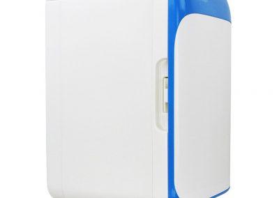 Mano Home 10L Mini-Fridge Dormitory Micro-refrigerators Automotive Small-Scale Home Car Coolers Semi-Conductor Refrigeration -Color - Blue