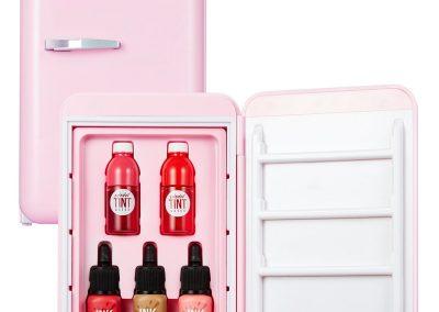 Peripera Peri's Mini Fridge Training Material Daldal Factory 0.12 x 0.07, 0.09 x 0.10 Ounce 001 Daldal Pink