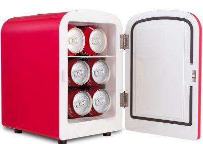 Portable Cooler Warmer Heats 4L Auto Car Boat Mini Fridge - Red_2