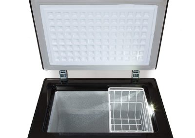 Whynter FM-951GW 95 Quart Wheeled Door Alert and 12v Option Portable Fridge-Freezers One Size Gray_2