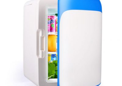YXGH - 10L Mini-Fridge Dormitory Micro-refrigerators Automotive Small-Scale Home Car Coolers Semi-Conductor Refrigeration Automotive Accessories Refrigerators-Color-Blue_2