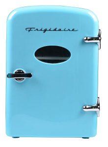 Frigidaire Retro Mini Compact Beverage Refrigerator 6 Can Blue