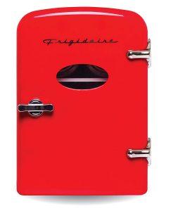 frigidaire retro mini compact beverage refrigerator 6 can