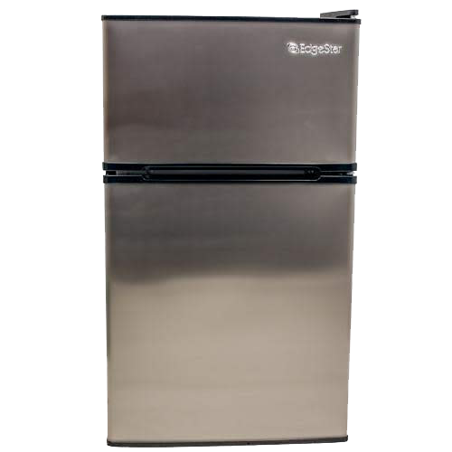 Convertible Fridge Freezer With Lock Edgestar